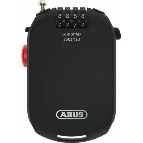 ABUS Combiflex Hosentaschen-Kabel Schwarz 120 cm