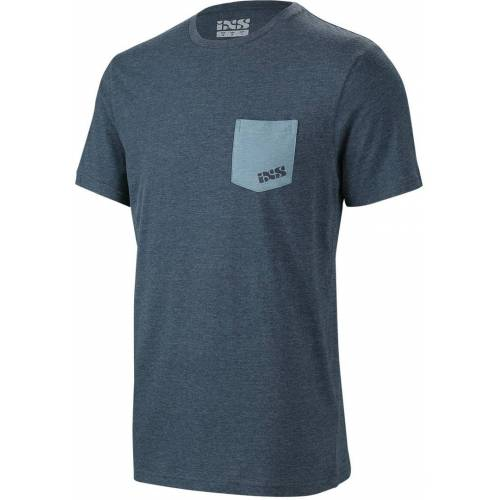IXS Classic Fahrrad T-Shirt Blau S