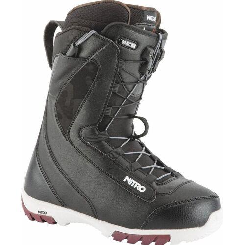 Nitro Cuda TLS Damen Snowboard Stiefel Schwarz 25 26