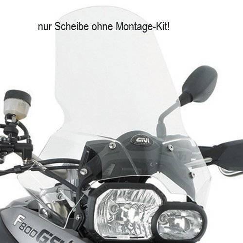 GIVI 333DT Windschild Transparent - Mit ABE transparent