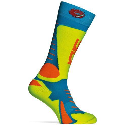 Sidi Tony Socken Blau Gelb 38 39 40 41 42