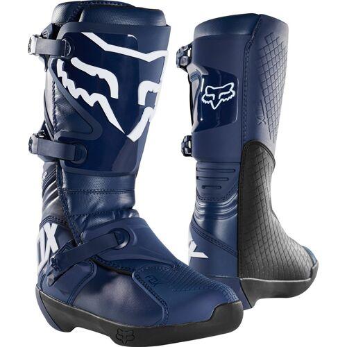 FOX Comp Motocross Stiefel Blau 43