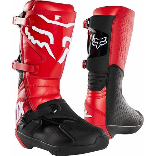 FOX Comp Motocross Stiefel Rot 49