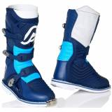Acerbis X-Kid Kinder Motocross Stiefel Blau 35