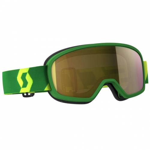 Scott Buzz MX Pro Motocross Kinderbrille Grün Gelb