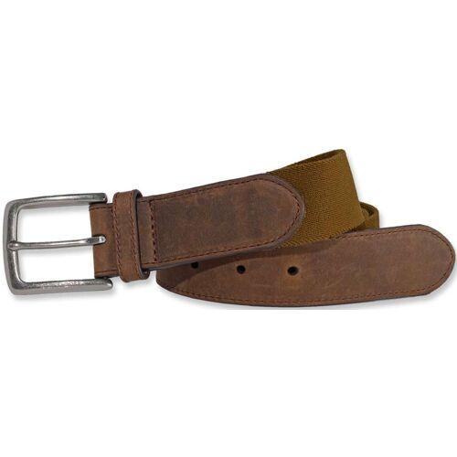 Carhartt Rugged Flex Ledergürtel Braun 38