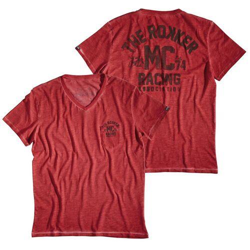 Rokker MC T-Shirt Rot XL