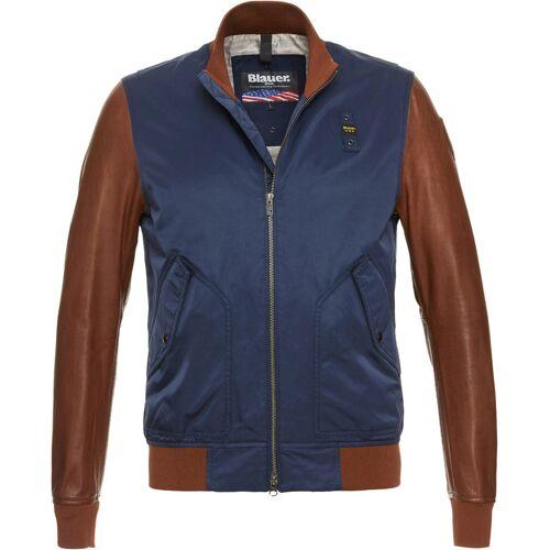 Blauer USA Rockwell Jacke Blau Braun M
