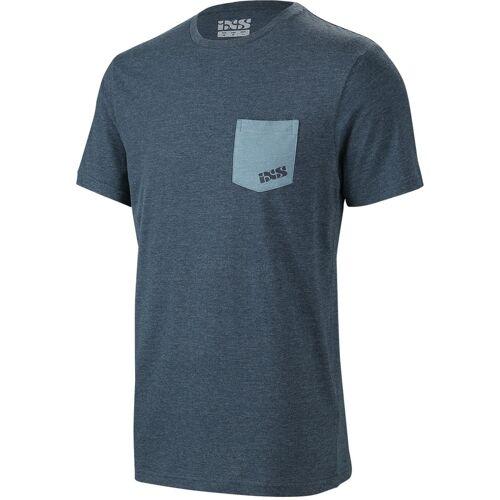 IXS Classic Fahrrad T-Shirt Blau 2XL