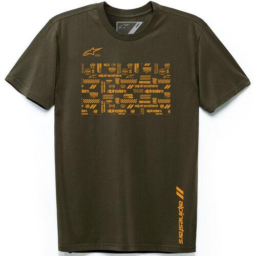 Alpinestars Chaotic T-Shirt Grün L