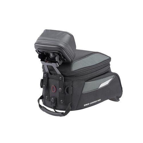 SW-Motech Navi-Halter für EVO Tankrucksack - Für EVO Tankrucksack (nicht Micro). Schwarz. schwarz