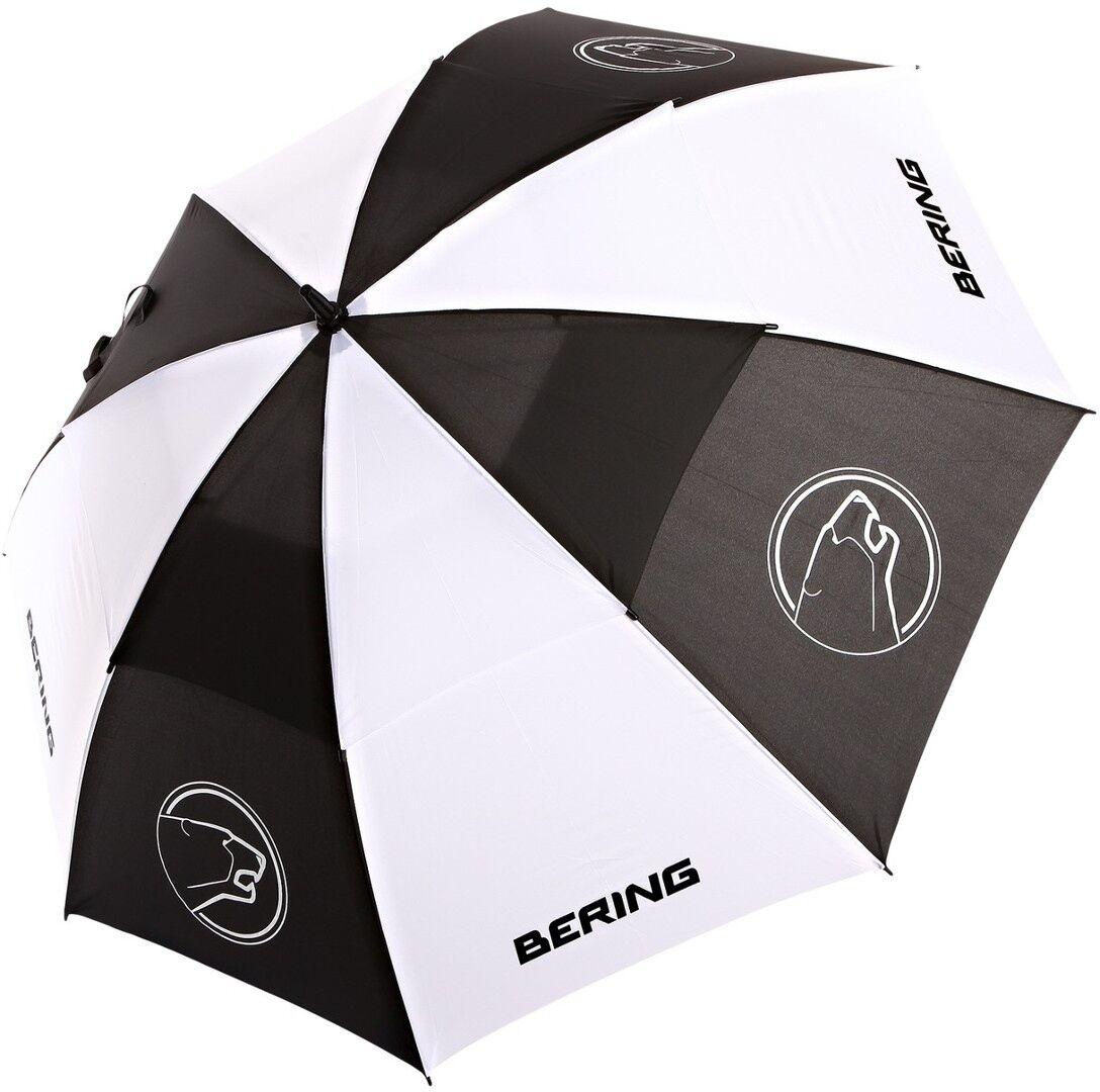 Bering Regenschirm Schwarz Weiss Einheitsgröße