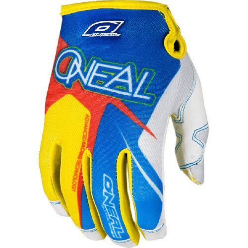 Oneal O´Neal Jump Race Handschuhe 2014 Blau Gelb 2XL