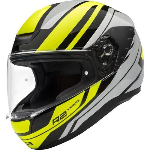 Schuberth R2 Enforcer Helm Grau Gelb S