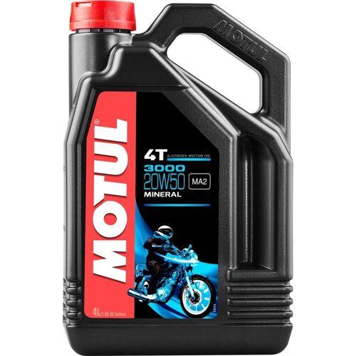 MOTUL 3000 4T 20W50 Motorenöl 4 Liter