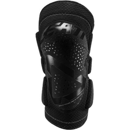 Leatt 3DF 5.0 Motocross Knieprotektoren Schwarz 2XL