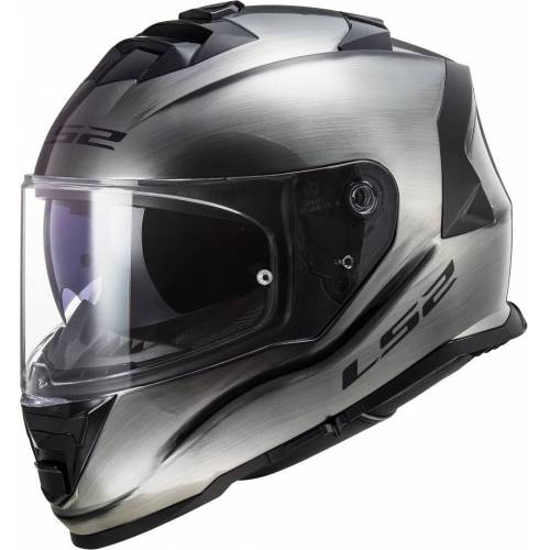 LS2 FF800 Storm Jeans Helm Silber XS