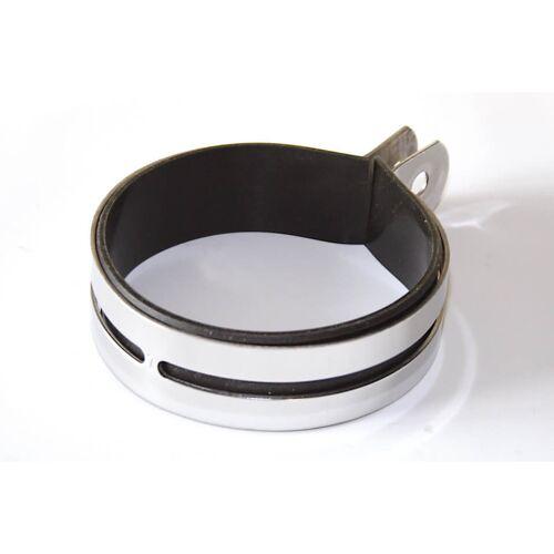 IXIL Uni-Auspuffschelle 11 cm für Competition Auspuff Silber