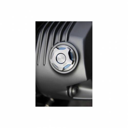 LSL Öleinfüllstopfen M34x1,5, BMW RnineT/GS Silber