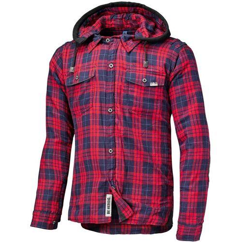Held Lumberjack Hemd Rot Blau S