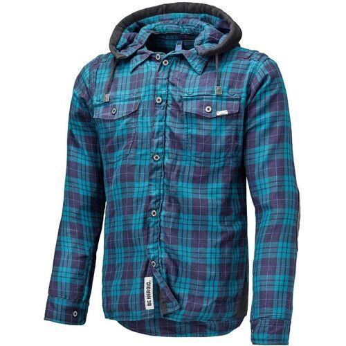 Held Lumberjack Hemd Blau XL