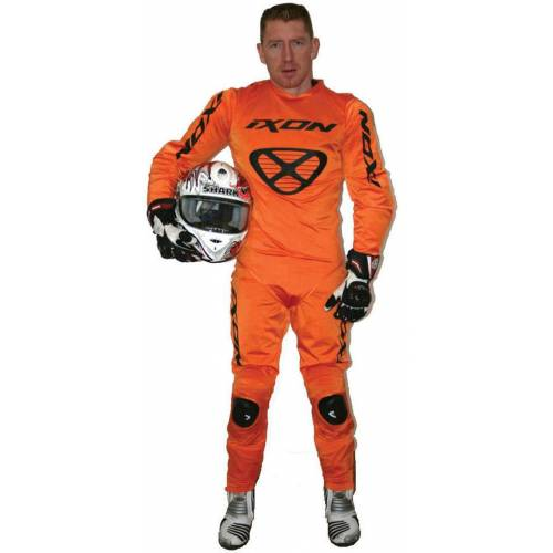 Ixon R.10 Regenkombi Orange XS S