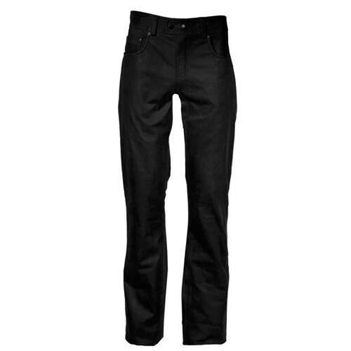 Modeka Stemp Lederhose Schwarz 44