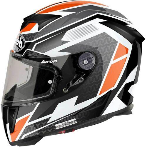 Airoh GP-500 Regular Gloss Motorradhelm Orange L