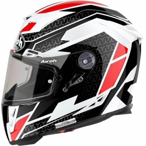 Airoh GP-500 Regular Gloss Motorradhelm Rot L