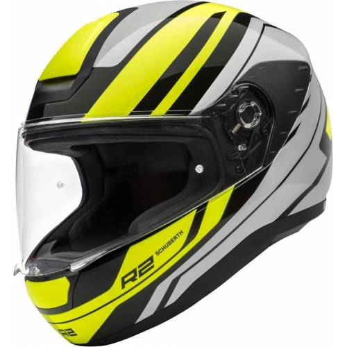 Schuberth R2 Enforcer Helm Grau Gelb XS