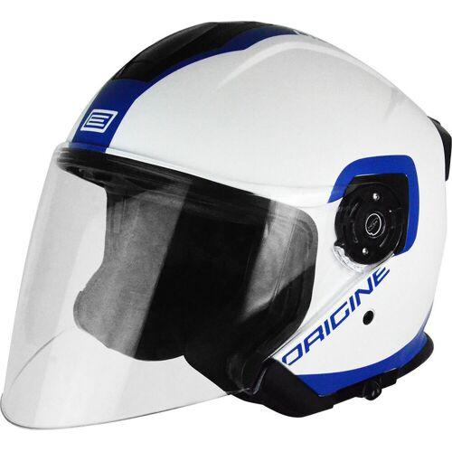 Origine Palio Flow Jet Helm Weiss Blau S