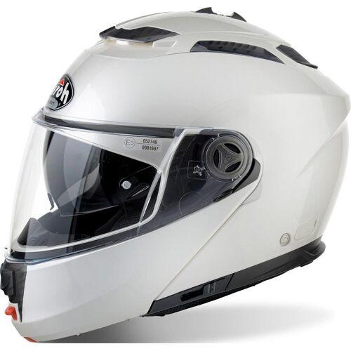 Airoh Phantom S Motorrad Klapphelm Weiss M