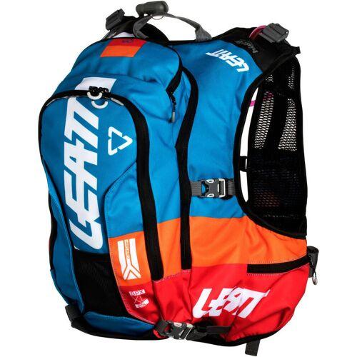 Leatt GPX XL 2.0 Hydration Trinksystem Rucksack Weiss Blau 21-30l