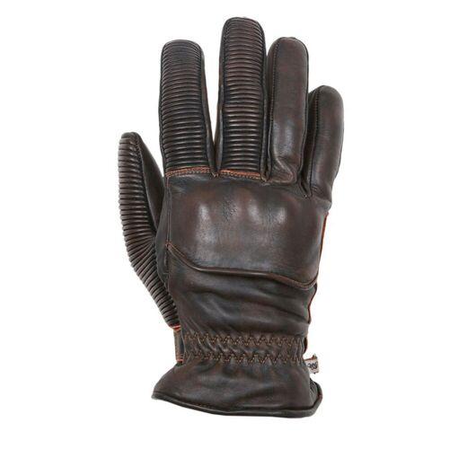 Helstons Ranchero Cuir Handschuhe Braun 2XL