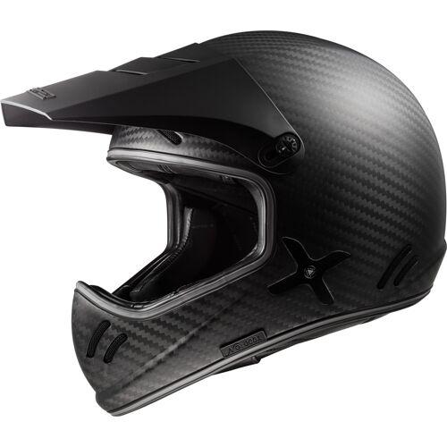 LS2 MX471 Xtra Motorradhelm Schwarz Carbon M