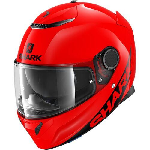 Shark Spartan Blank Helm Rot XL