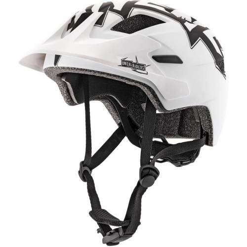 Oneal Rooky Jugend Fahrradhelm Weiss 2XS XS S