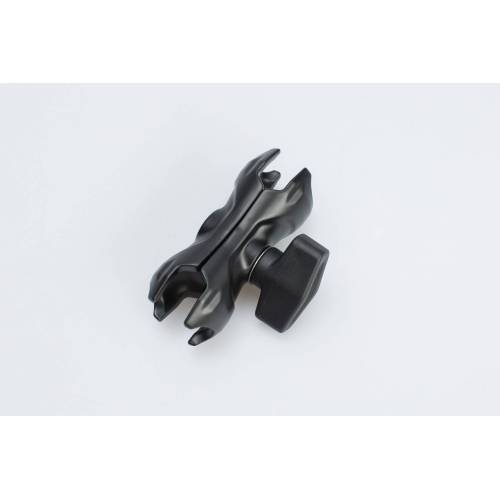 SW-Motech Schwenkbarer Klemmarm - Schwarz. 2,2 Zoll / 5,5 cm. schwarz