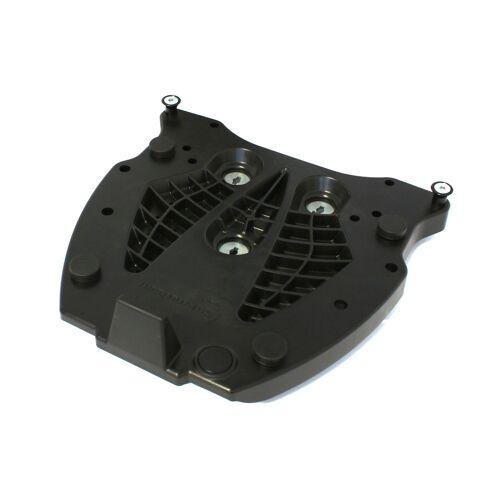 SW-Motech Adapterplatte für ALU-RACK Gepäckträger - Für Givi/Kappa Monolock. Schwarz. schwarz