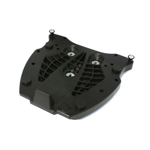 SW-Motech Adapterplatte für ALU-RACK Gepäckträger - Für Hepco & Becker. Schwarz. schwarz