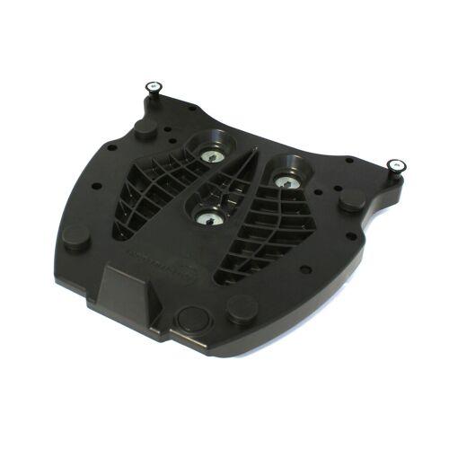 SW-Motech Adapterplatte für ALU-RACK Gepäckträger - Für Givi/Kappa Monokey. Schwarz. schwarz