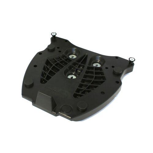 SW-Motech Adapterplatte für ALU-RACK Gepäckträger - Für Shad, nicht SH29/SH39/SH48/SH50/SH58X. Schwarz schwarz