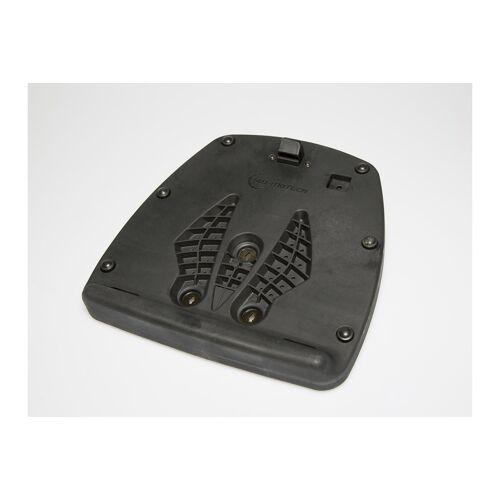 SW-Motech Adapterplatte für ALU-RACK Gepäckträger - Für T-RaY Topcase L/XL. Schwarz. schwarz