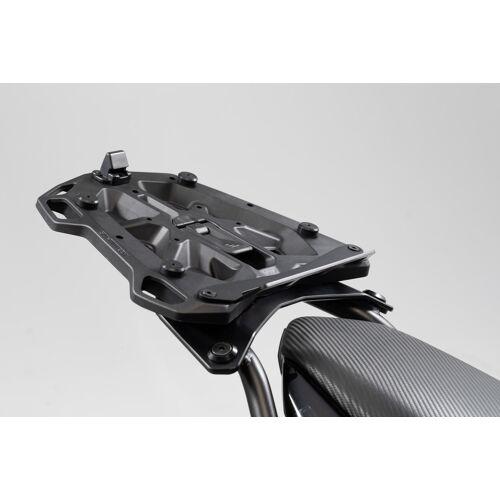 SW-Motech Adapterplatte für STREET-RACK Gepäckträger - Für Givi/Kappa mit Monolock. Schwarz. schwarz