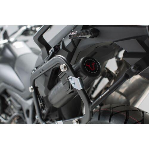 SW-Motech Werkzeugbox für PRO/EVO Seitenträger - Inkl. Anbaukit. Schwarz. schwarz