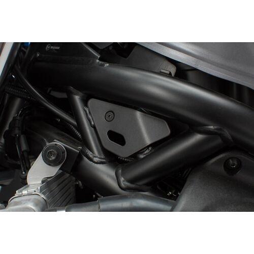 SW-Motech Rahmenabdeckung-Set - 2-teilig. Schwarz. Suzuki SV650 ABS (15-). schwarz