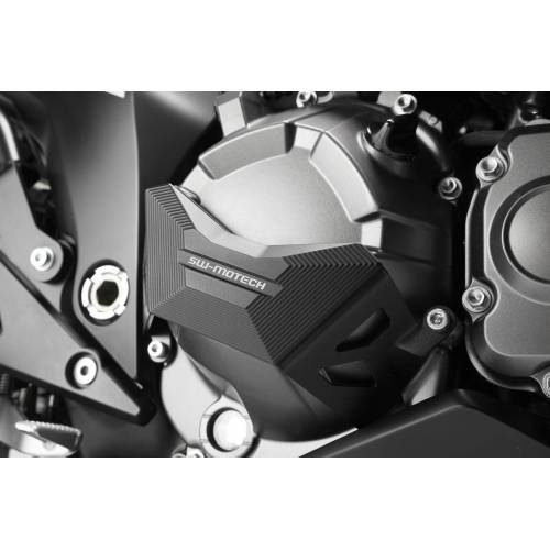 SW-Motech Kawasaki Z 800 Motordeckel-Schutz Schwarz