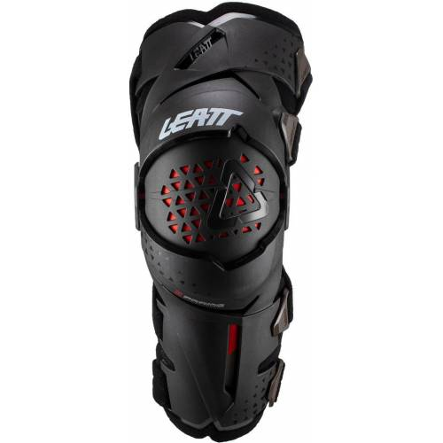 Leatt Z-Frame Motocross Knieprotektor Schwarz M