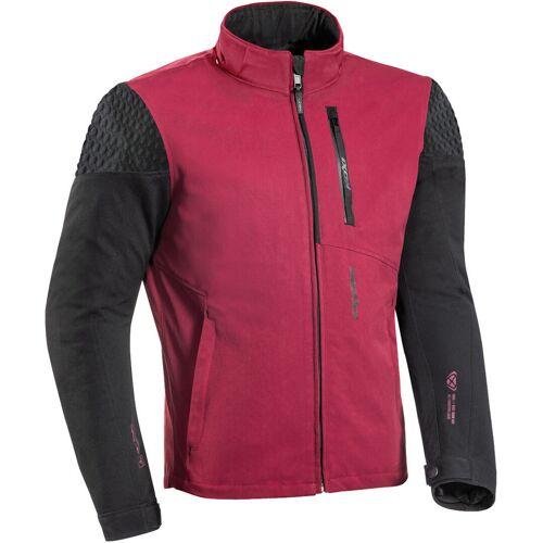 Ixon Brixton Motorrad Textiljacke Schwarz Rot 3XL