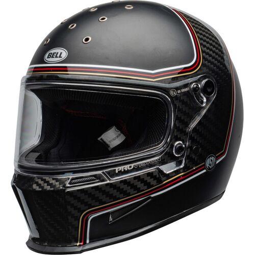 Bell Eliminator Carbon RSD The Charge Helm Schwarz Carbon M L